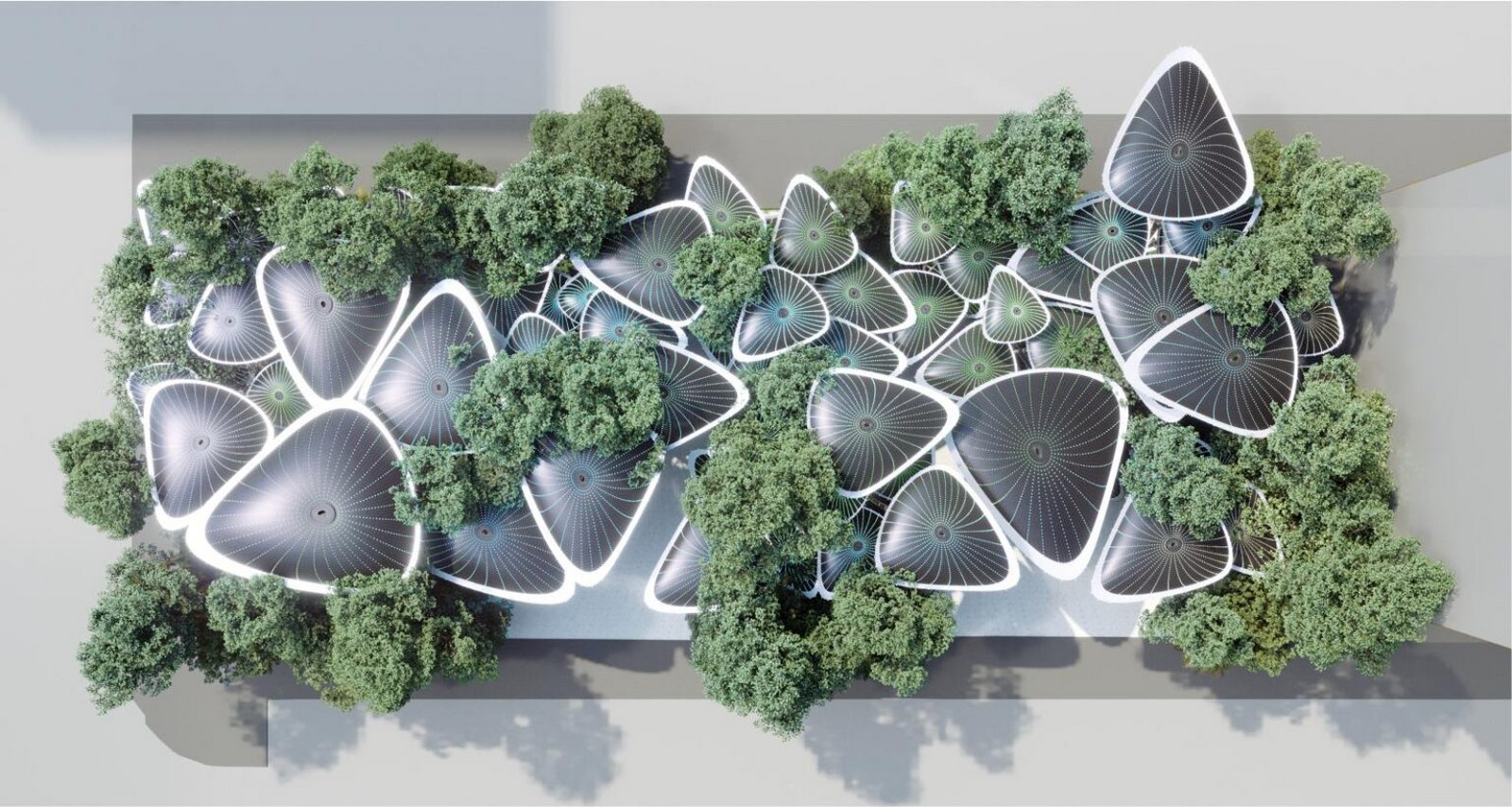Cooling Stations for Abu Dhabi's Urban Heat Island designed by Mask Architects - Sheet4