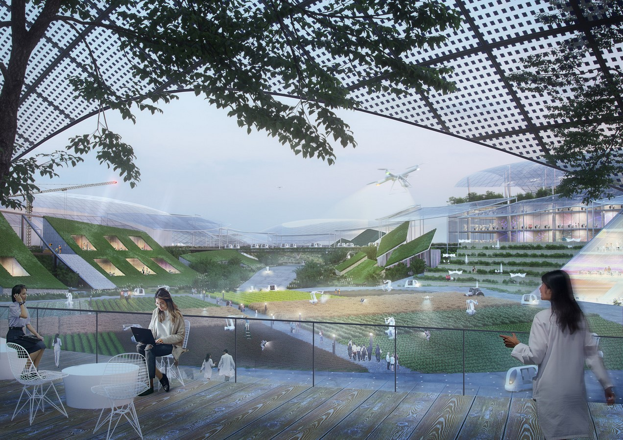 """""""Sky Valley"""", Chengdu Future Science and Technology City, in Southwest China unveiled by MVRDV - Sheet2"""
