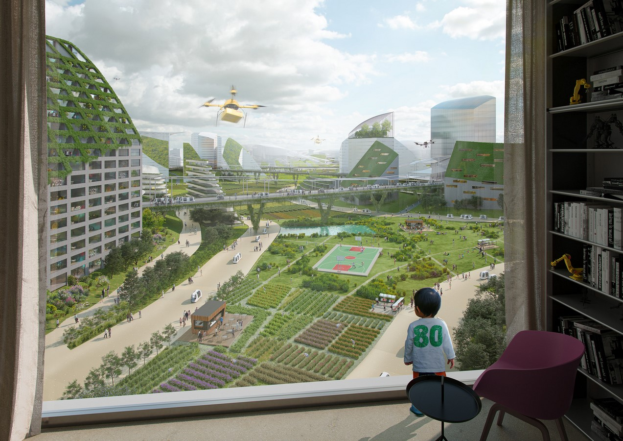 """""""Sky Valley"""", Chengdu Future Science and Technology City, in Southwest China unveiled by MVRDV - Sheet3"""