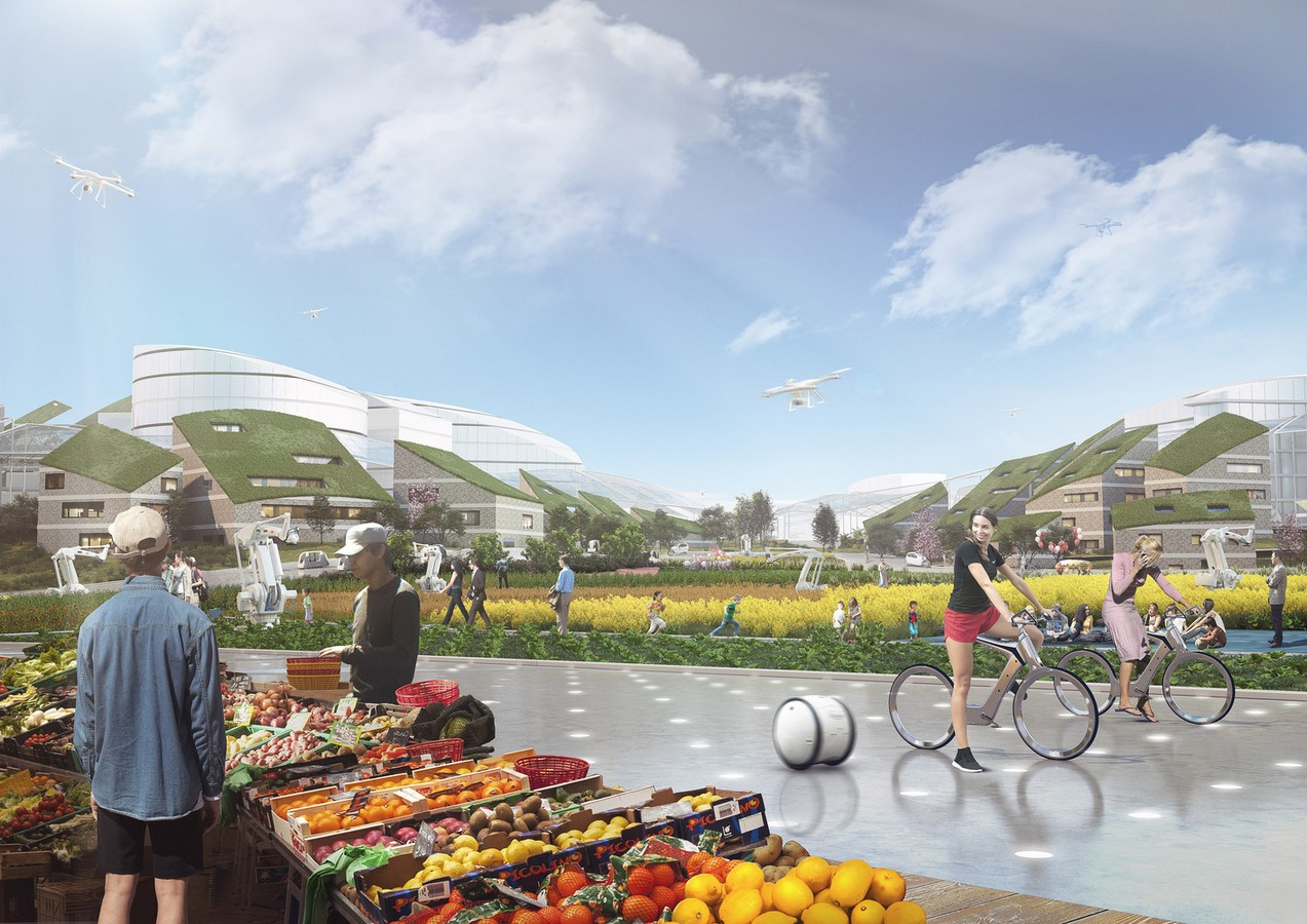 """""""Sky Valley"""", Chengdu Future Science and Technology City, in Southwest China unveiled by MVRDV - Sheet5"""