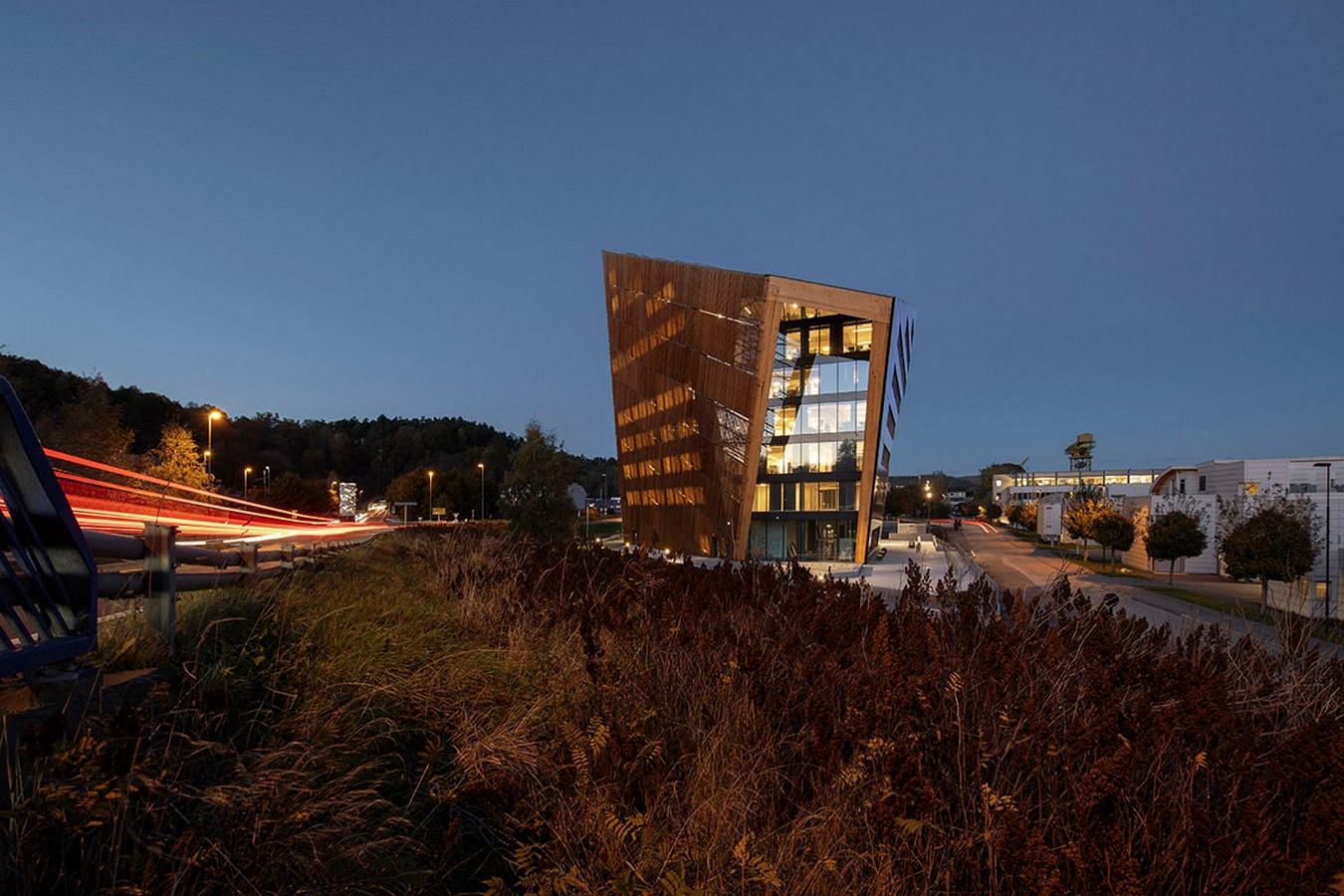 4th Energy Positive Powerhouse In Telemark With Energy Producing Façade And Roof designed by Snøhetta - Sheet1