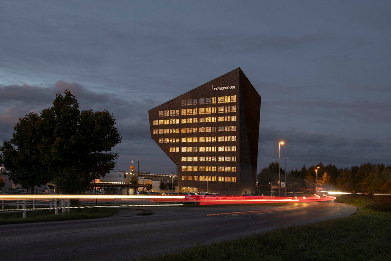 4th Energy Positive Powerhouse In Telemark With Energy Producing Façade And Roof designed by Snøhetta - Sheet3