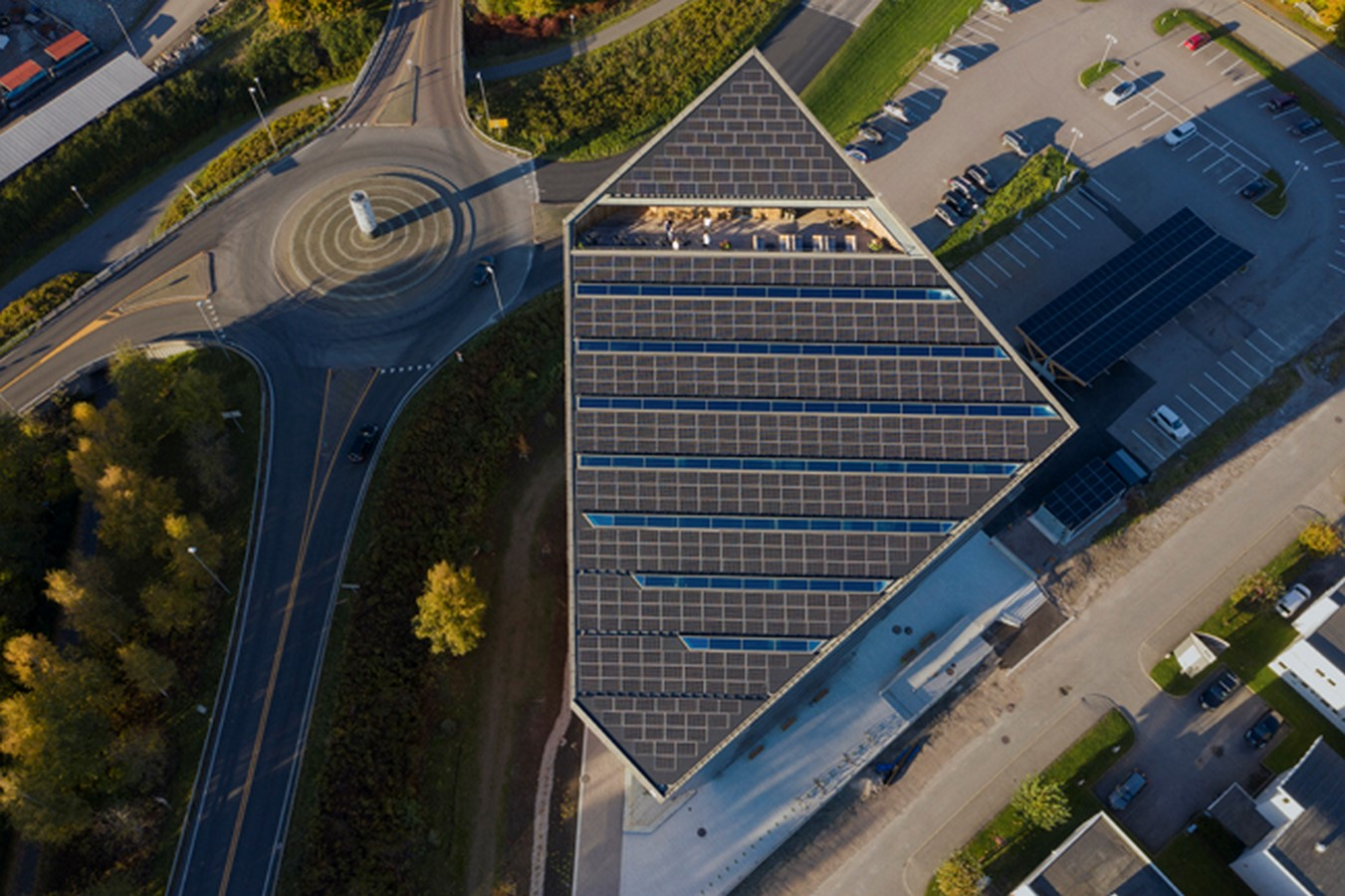 4th Energy Positive Powerhouse In Telemark With Energy Producing Façade And Roof designed by Snøhetta - Sheet7