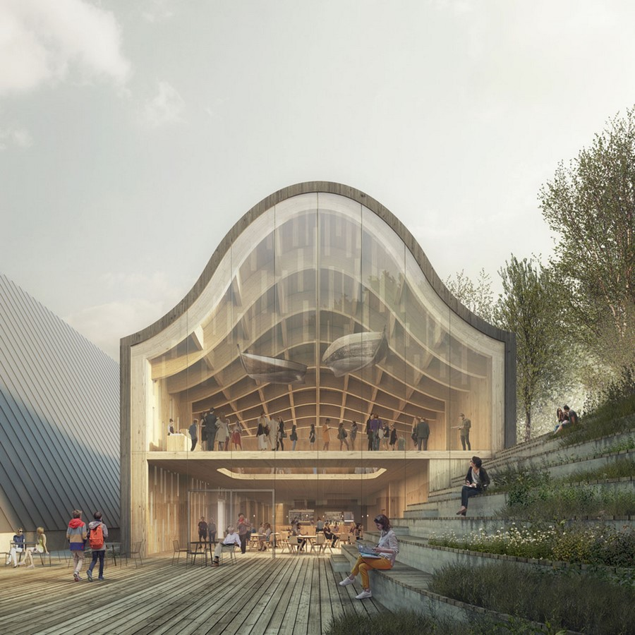 """New Extension Of Norway's Polar Exploration Museum """"FRAM"""" to be designed by Reiulf Ramstad Arkitekter - Sheet3"""