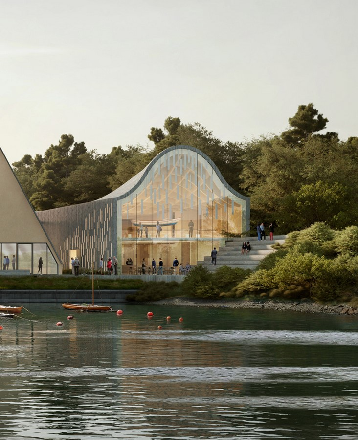 """New Extension Of Norway's Polar Exploration Museum """"FRAM"""" to be designed by Reiulf Ramstad Arkitekter - Sheet5"""