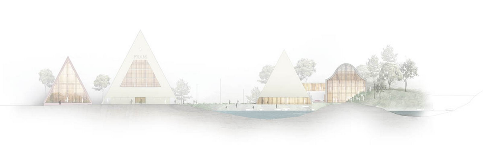 """New Extension Of Norway's Polar Exploration Museum """"FRAM"""" to be designed by Reiulf Ramstad Arkitekter - Sheet8"""