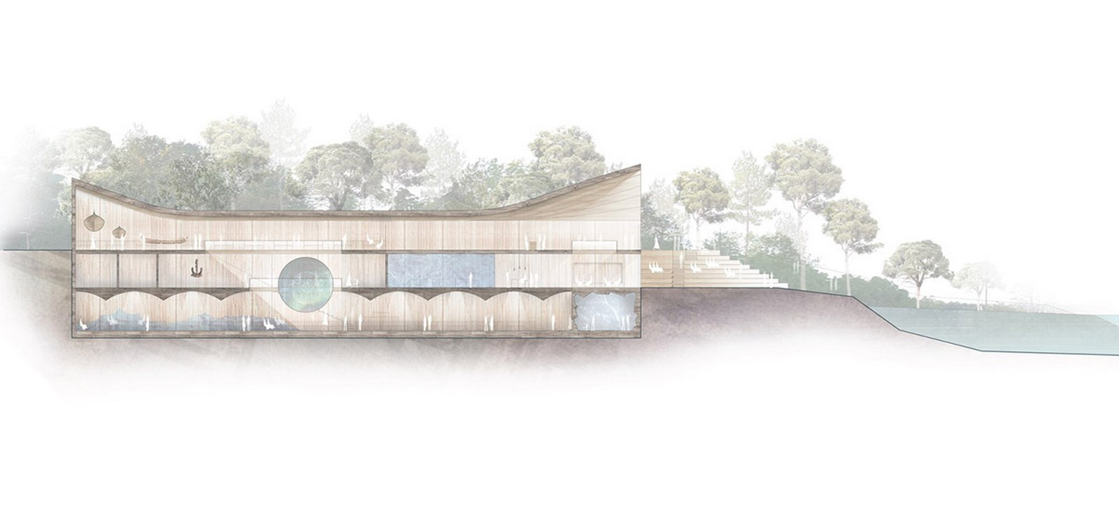 """New Extension Of Norway's Polar Exploration Museum """"FRAM"""" to be designed by Reiulf Ramstad Arkitekter - Sheet9"""