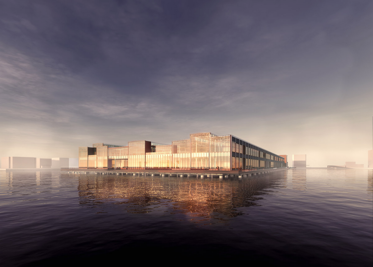Construction begins on redesigning of Boston's Seaport World Trade Center by Schmidt Hammer Lassen Architects - Sheet1