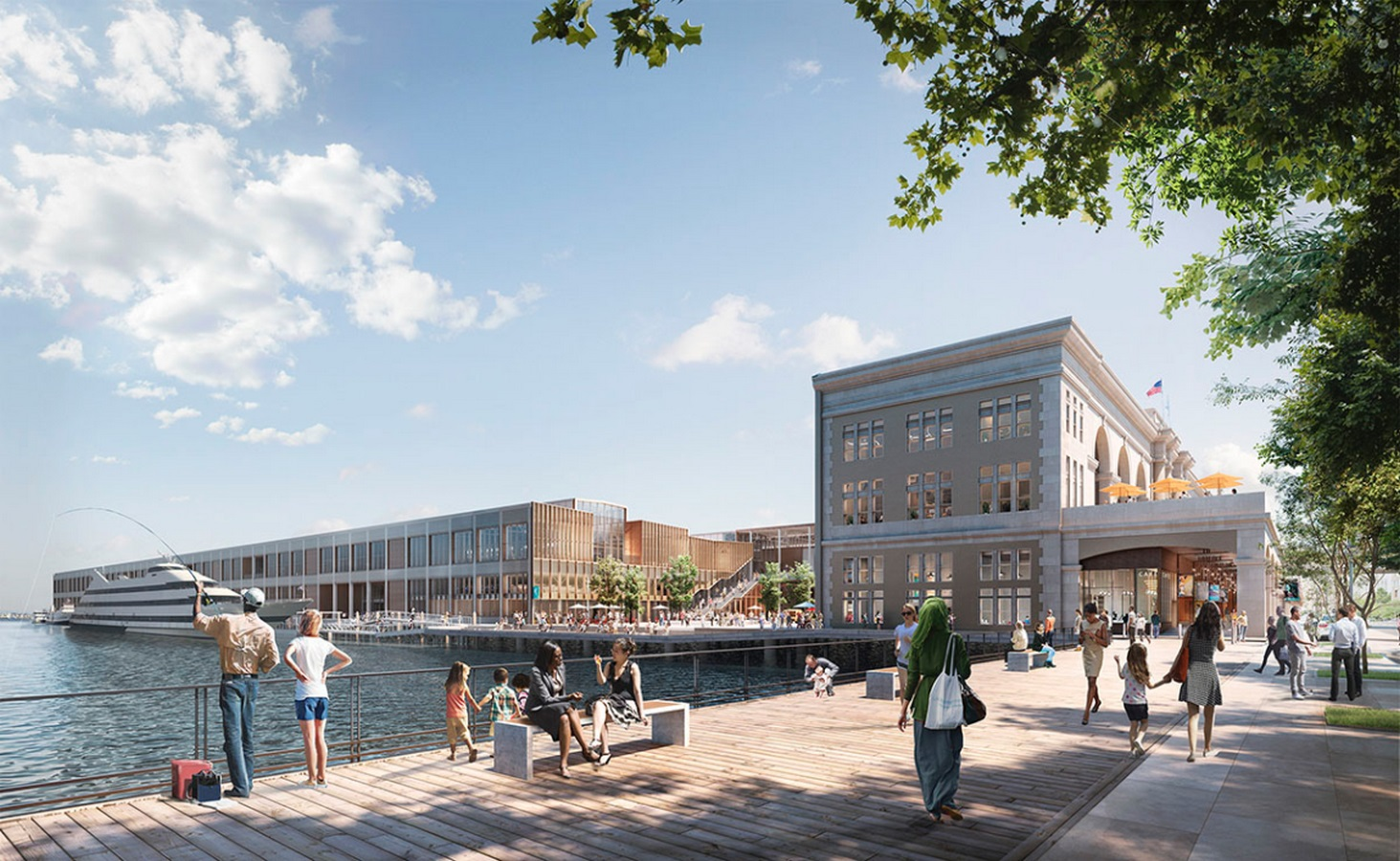 Construction begins on redesigning of Boston's Seaport World Trade Center by Schmidt Hammer Lassen Architects - Sheet5