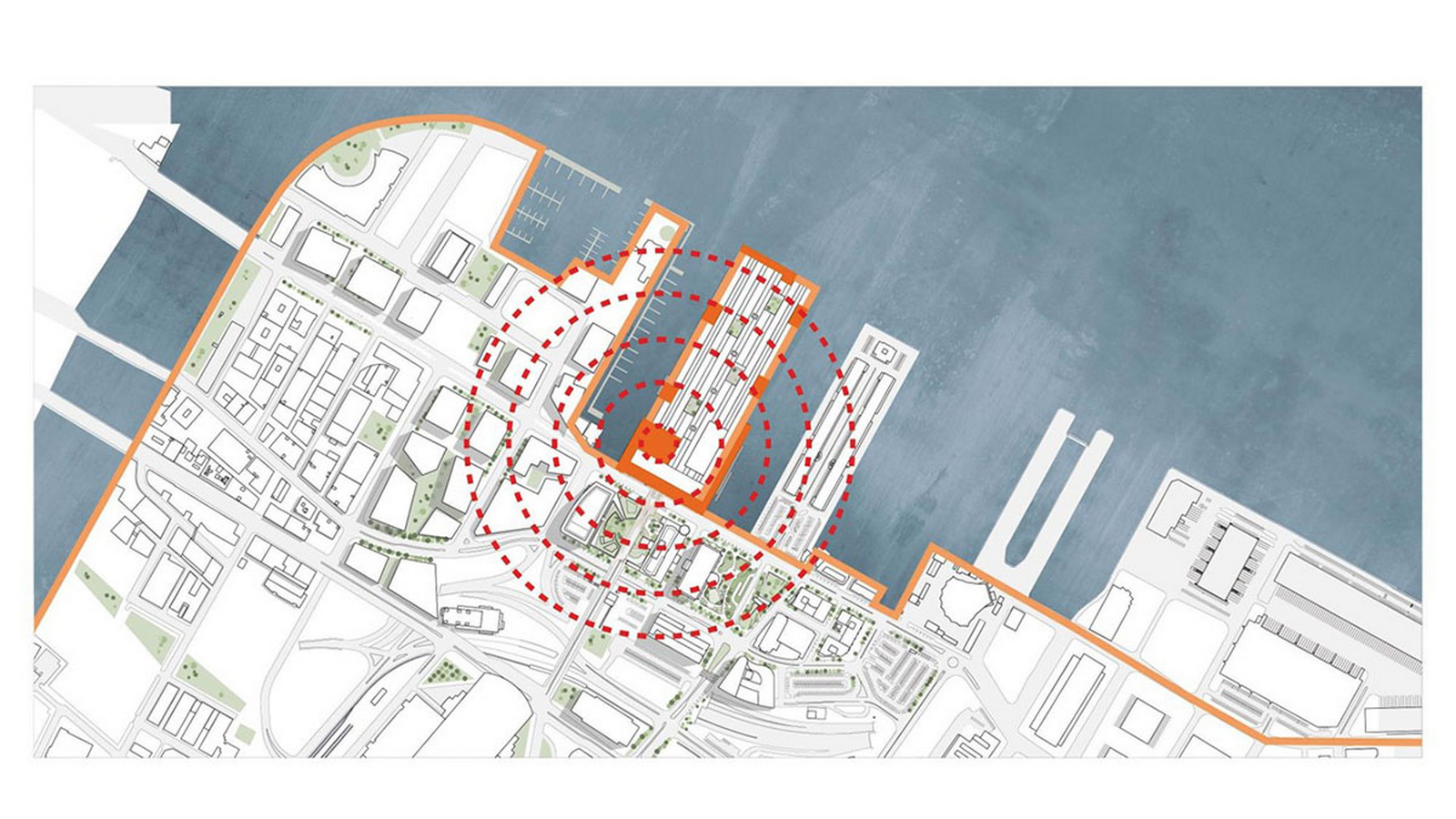 Construction begins on redesigning of Boston's Seaport World Trade Center by Schmidt Hammer Lassen Architects - Sheet3