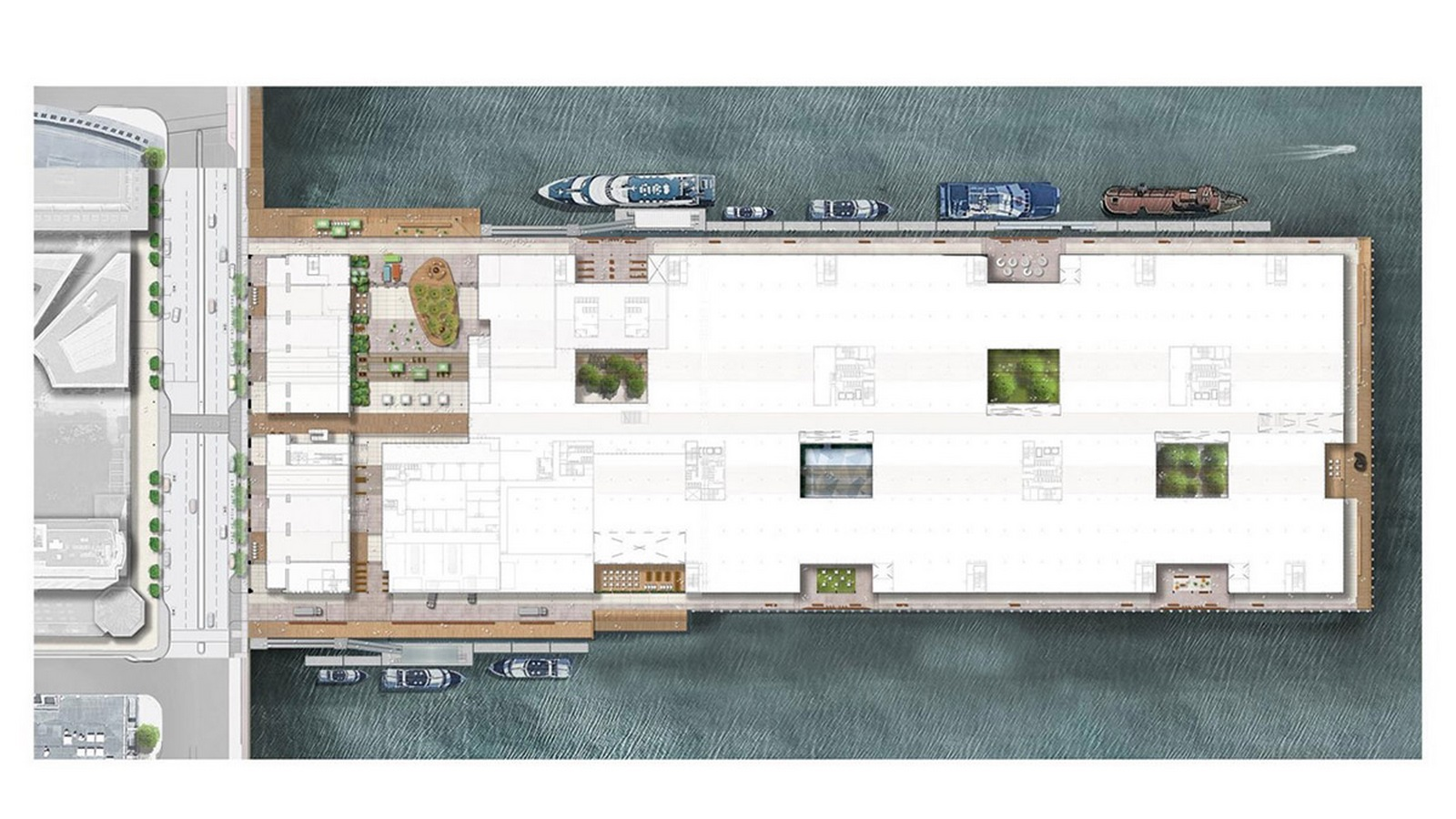 Construction begins on redesigning of Boston's Seaport World Trade Center by Schmidt Hammer Lassen Architects - Sheet7