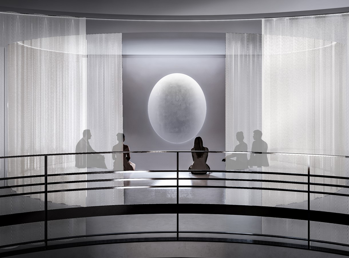 The Rubin Museum's Third Floor Galleries With The Mandala Lab transformed by Peterson Rich Office - Sheet2