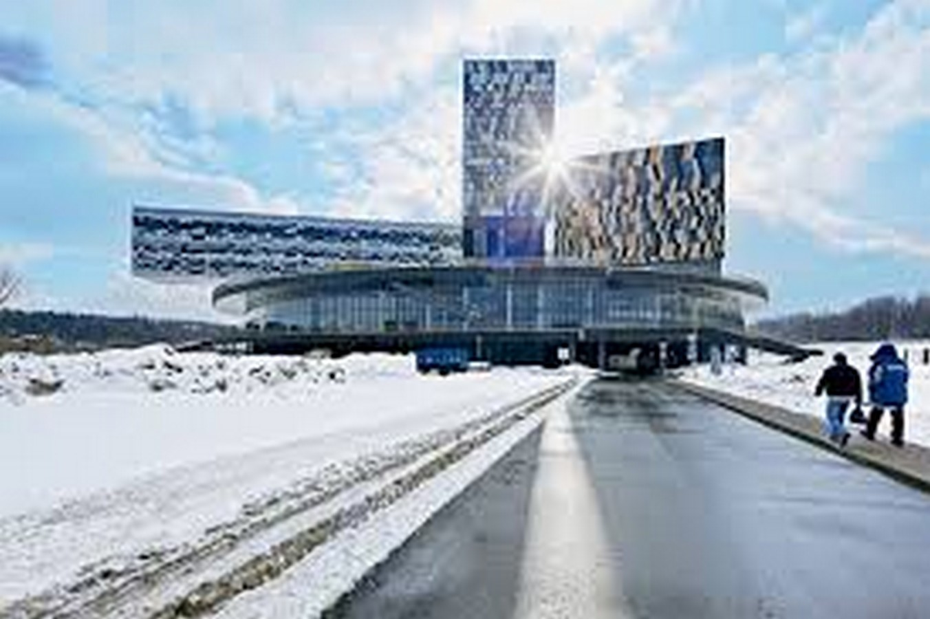 Moscow School of Management, Skolkovo, Russia by David Adjaye- Design inspired by Geometric Abstract Artwork - Sheet1