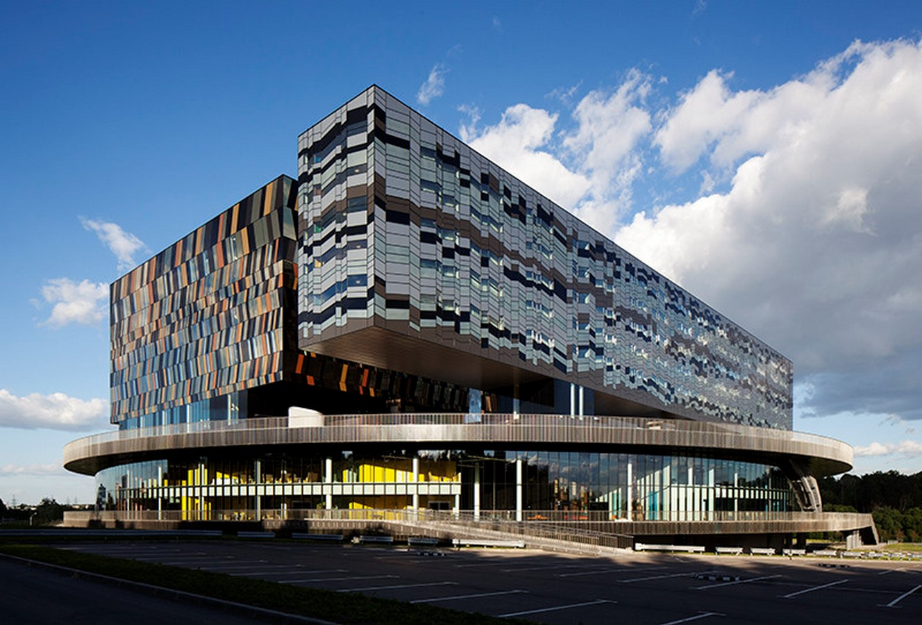 Moscow School of Management, Skolkovo, Russia by David Adjaye- Design inspired by Geometric Abstract Artwork - Sheet5