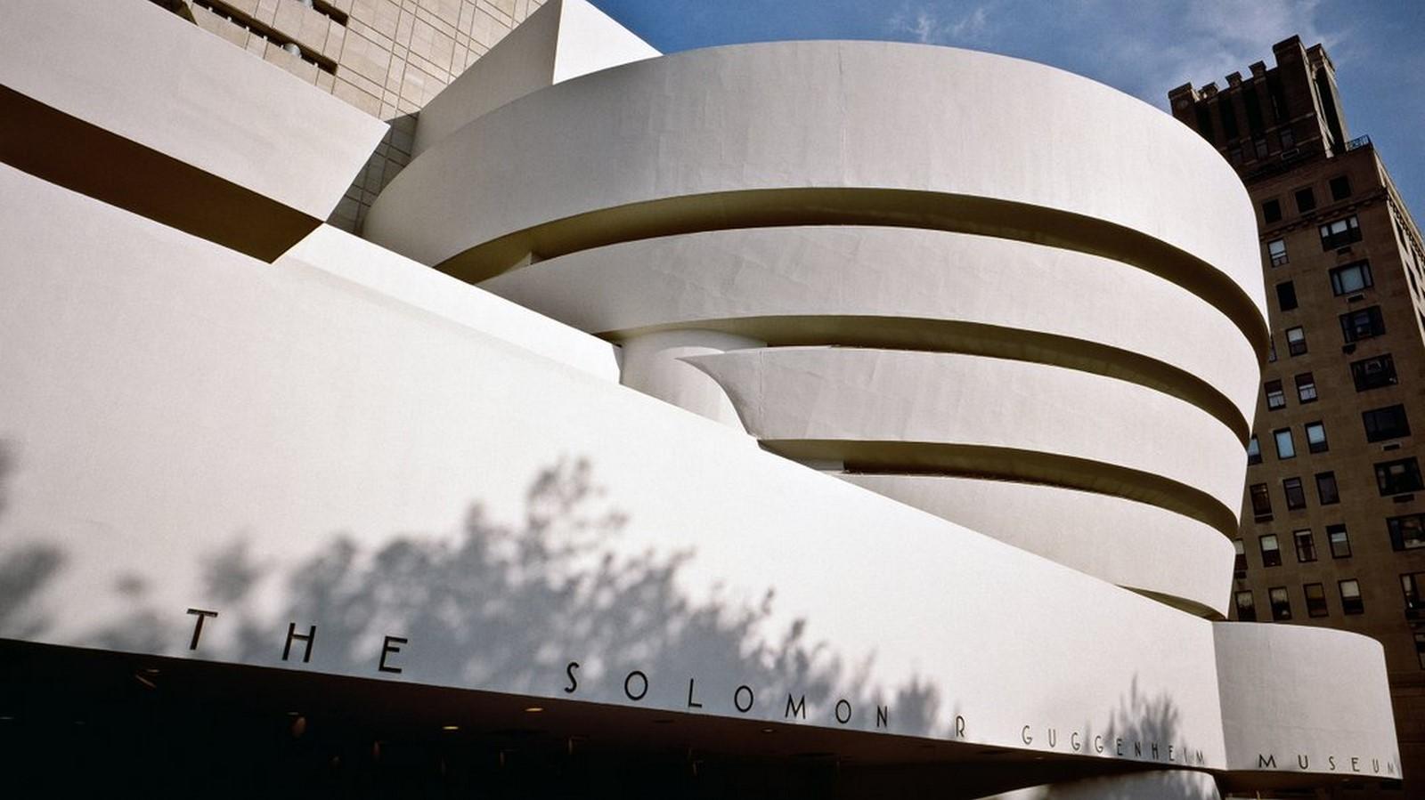 Guggenheim Museum, New York: - Sheet1