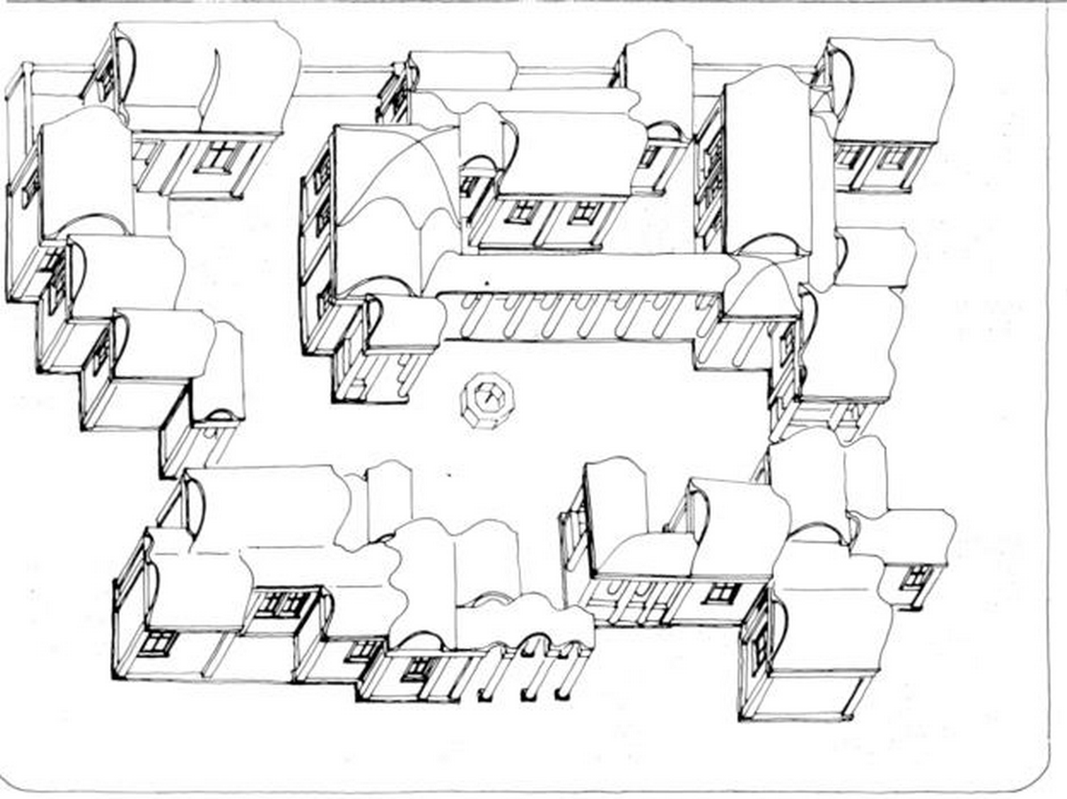 Christopher Alexander -Low-Cost Housing in Mexicali, Mexico. - Sheet1