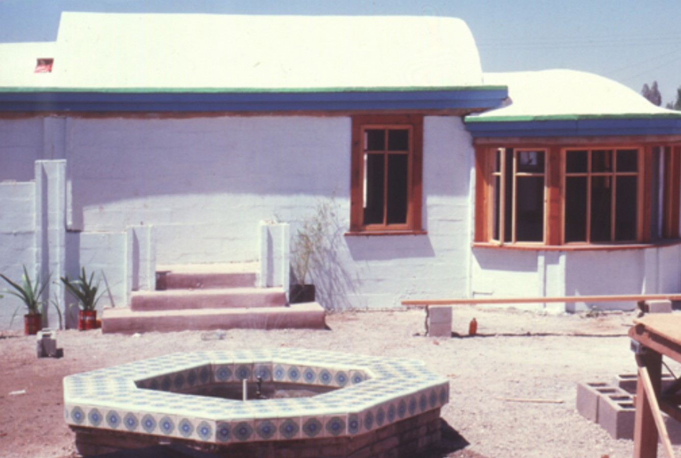 Low-Cost Housing in Mexicali, Mexico. - Sheet2