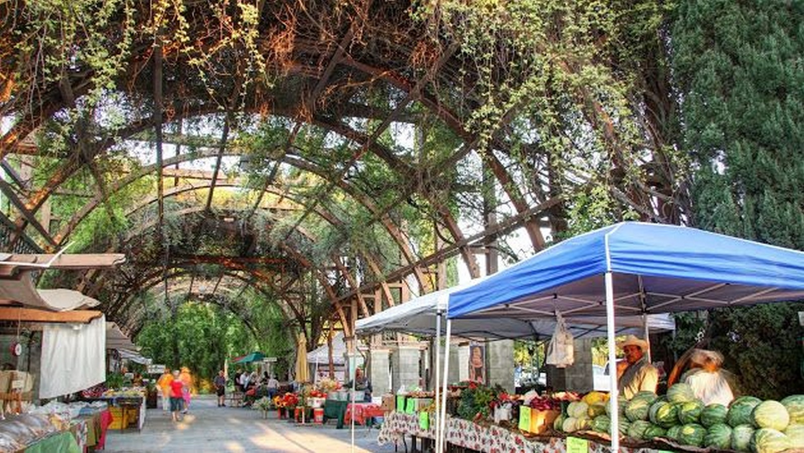 Fresno Farmers Market, Fresno, California. - Sheet1