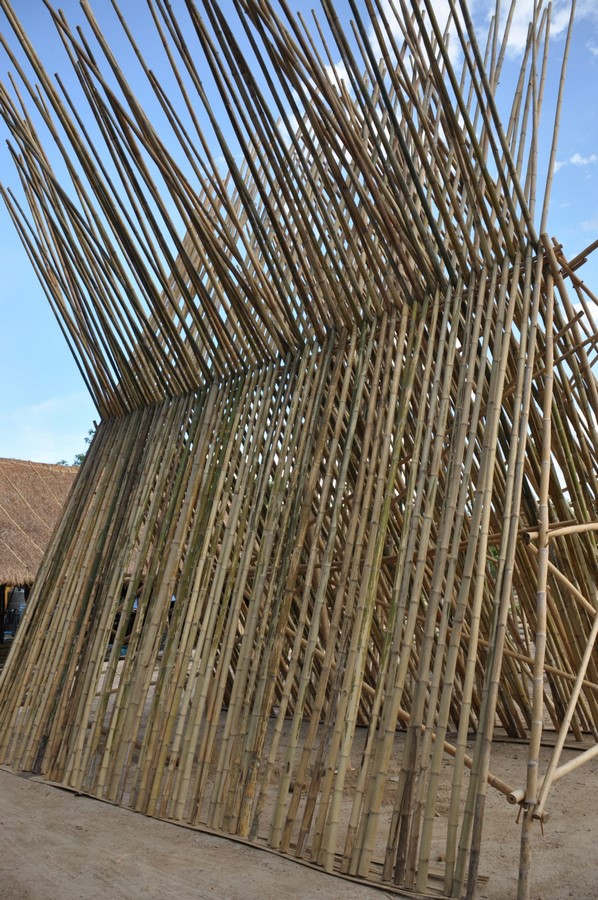 Construction techniques used in Bamboo Architecture - Sheet4