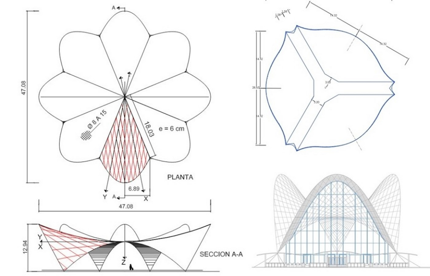 What are Hyperbolic paraboloid shells? - Sheet9