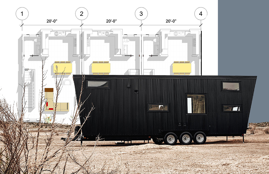 Architectural development of Tiny houses on wheels