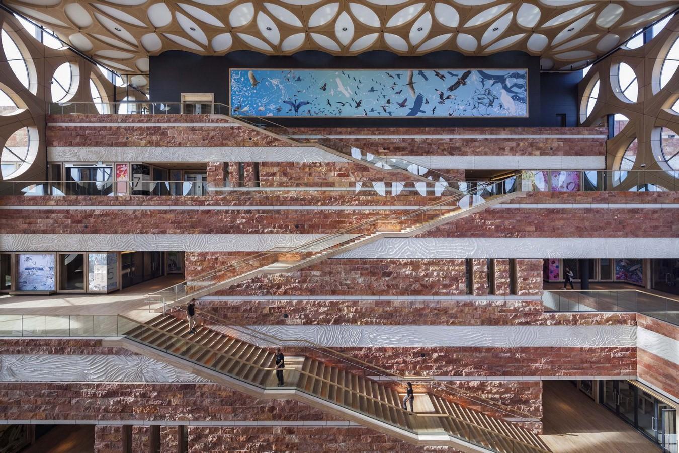 Naturalis Biodiversity Center in Leiden by Iris Van Herpen: The three-dimensional concrete structure - Sheet10