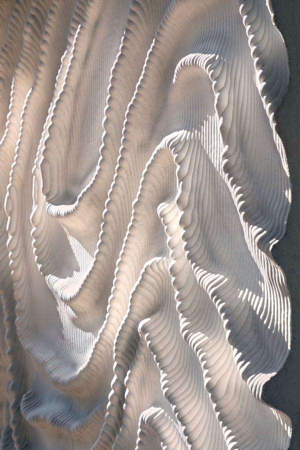 Naturalis Biodiversity Center in Leiden by Iris Van Herpen: The three-dimensional concrete structure - Sheet8