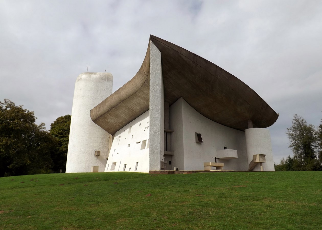 Notre Dame du Haut, France by Le Corbusier: The first Post-Modern building - Sheet1