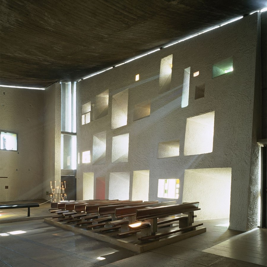 Notre Dame du Haut, France by Le Corbusier: The first Post-Modern building - Sheet2