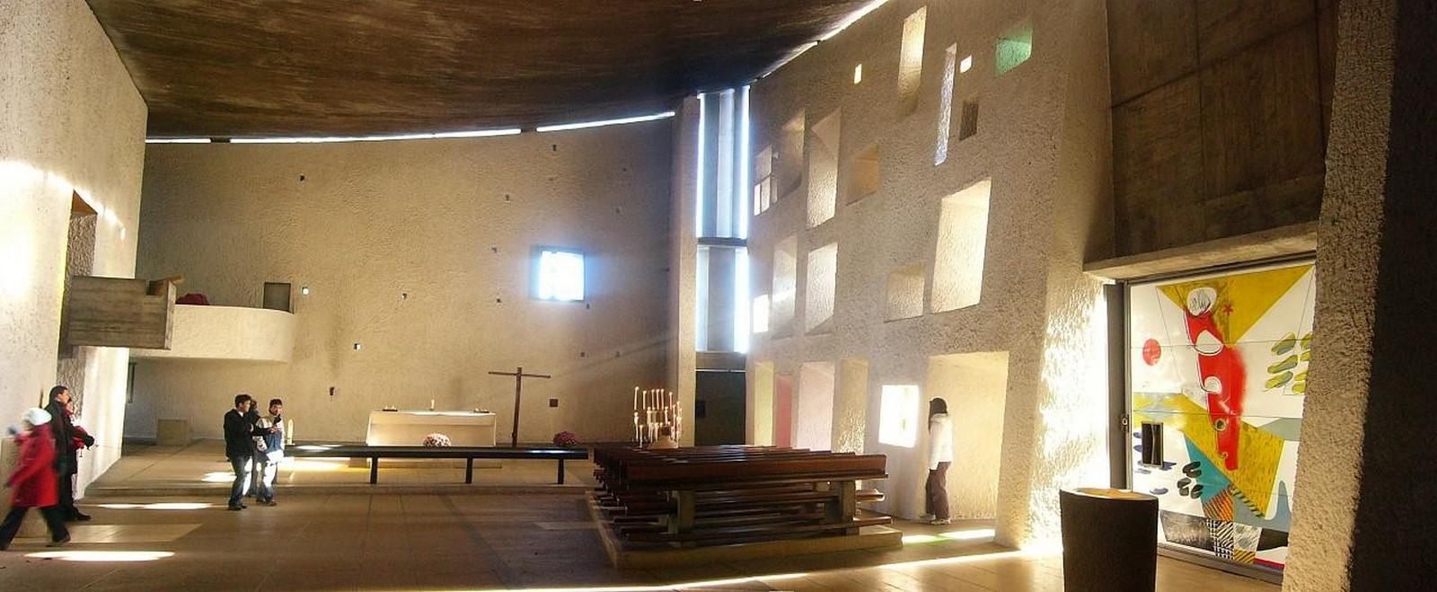 Notre Dame du Haut, France by Le Corbusier: The first Post-Modern building - Sheet6