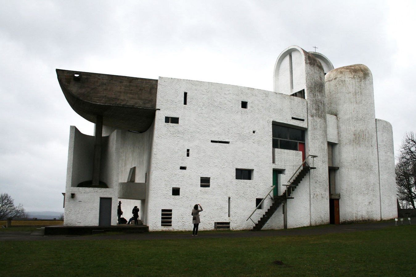 Notre Dame du Haut, France by Le Corbusier: The first Post-Modern building - Sheet7