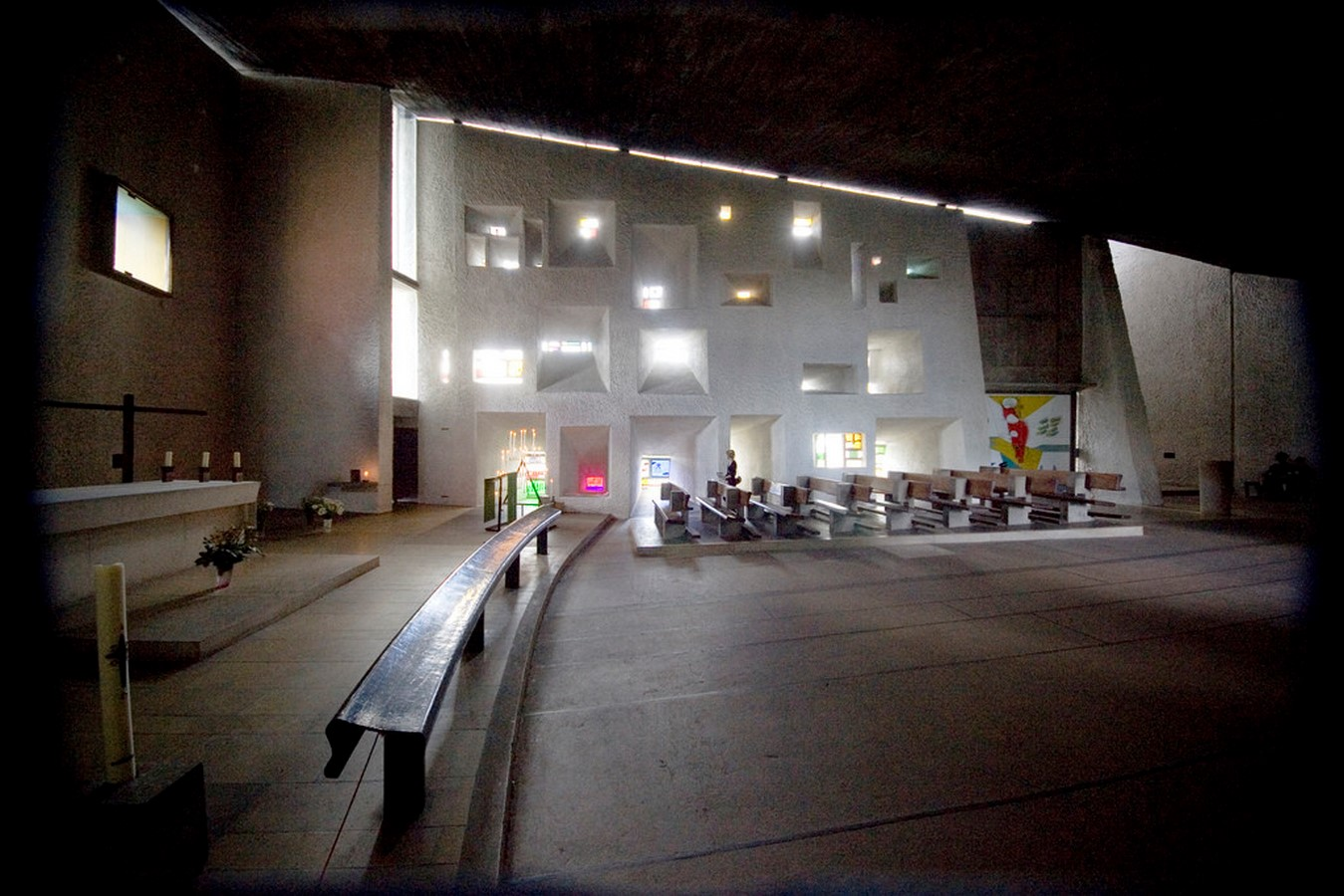 Notre Dame du Haut, France by Le Corbusier: The first Post-Modern building - Sheet8