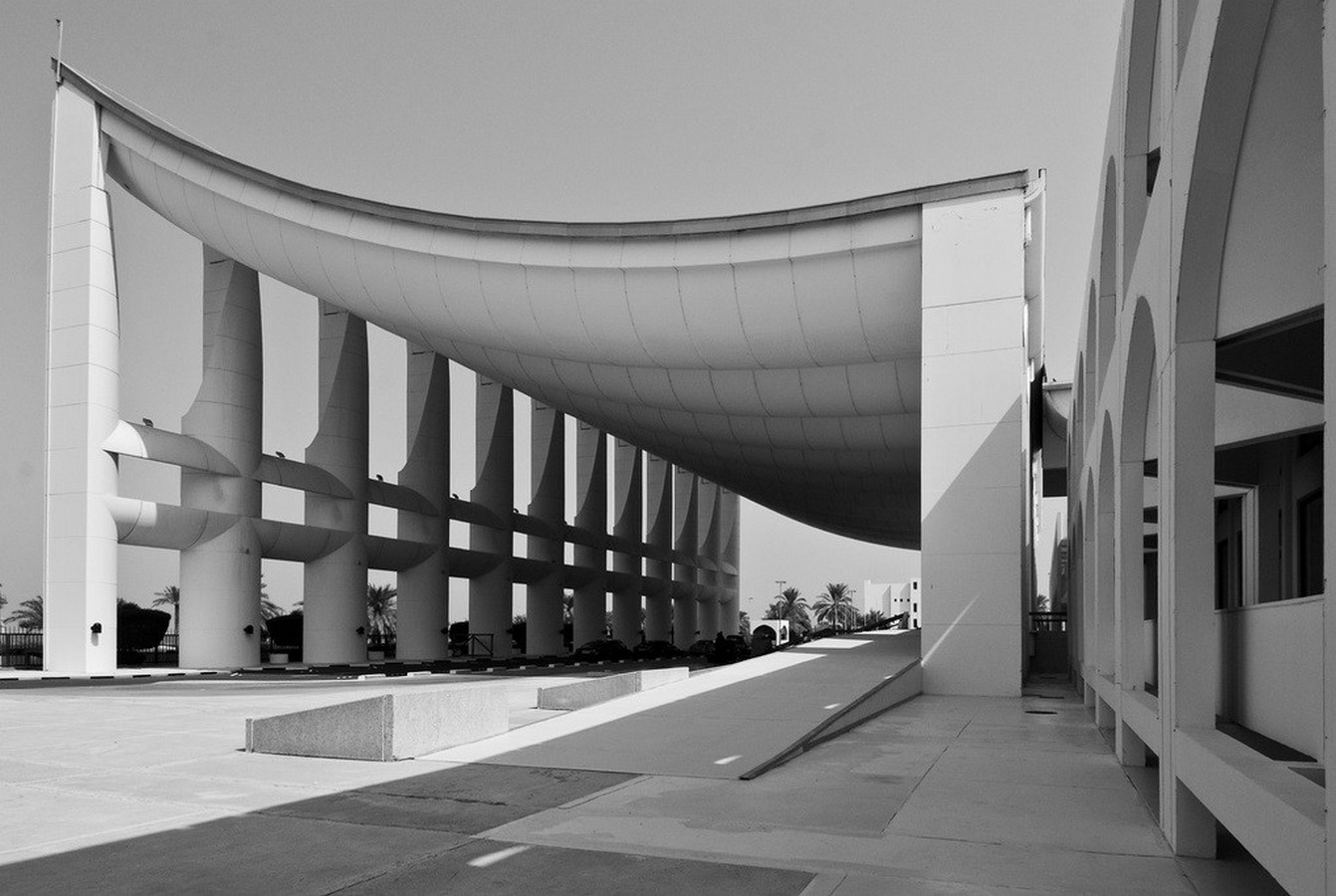 Kuwait National Assembly Building by Jørn Utzon: Architecture inspired from Bazaars - Sheet10