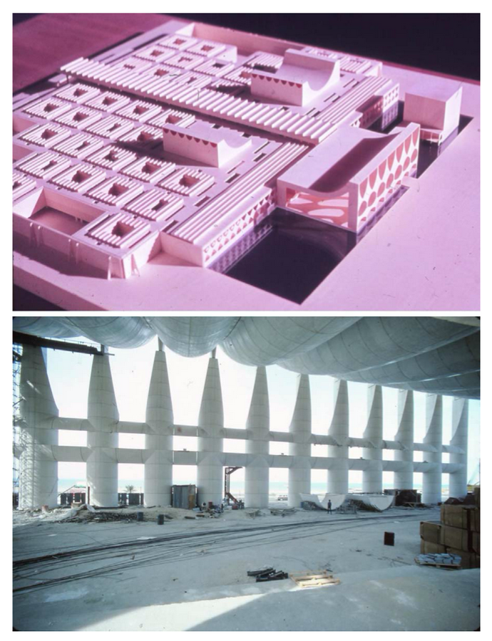 Kuwait National Assembly Building by Jørn Utzon: Architecture inspired from Bazaars - Sheet11