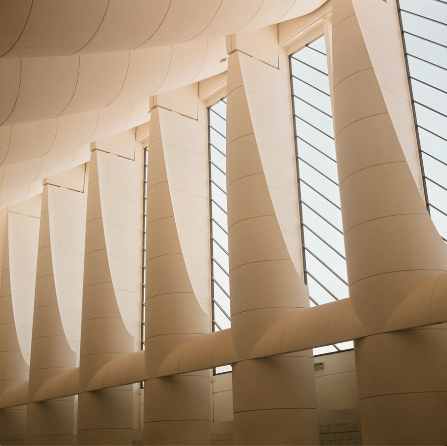 Kuwait National Assembly Building by Jørn Utzon: Architecture inspired from Bazaars - Sheet15