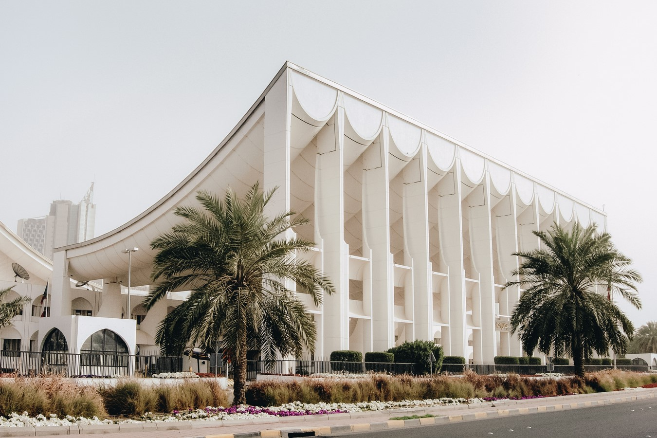 Kuwait National Assembly Building by Jørn Utzon: Architecture inspired from Bazaars - Sheet2