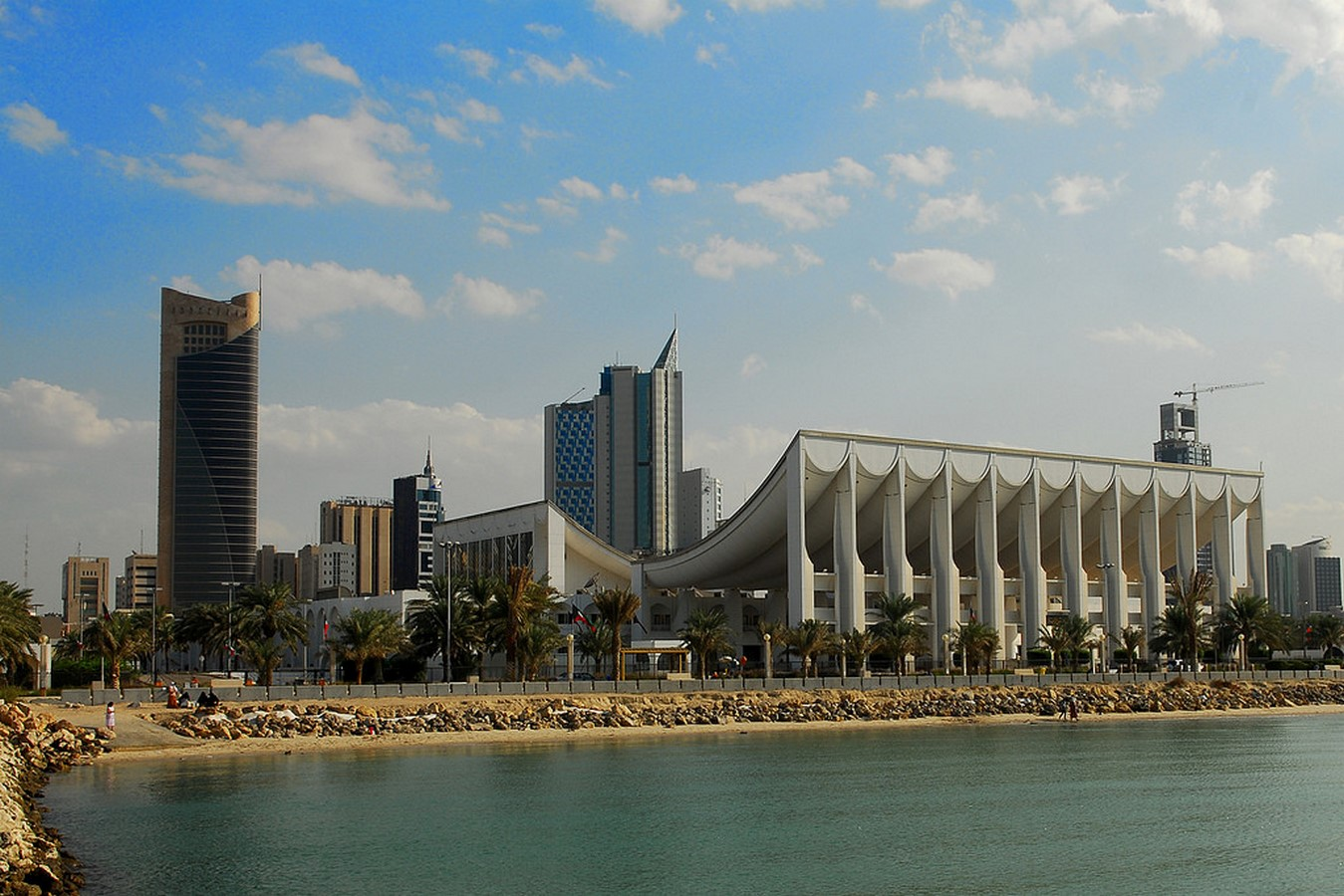 Kuwait National Assembly Building by Jørn Utzon: Architecture inspired from Bazaars - Sheet3