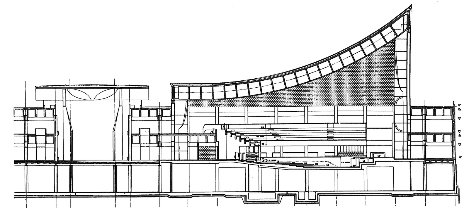 Kuwait National Assembly Building by Jørn Utzon: Architecture inspired from Bazaars - Sheet9