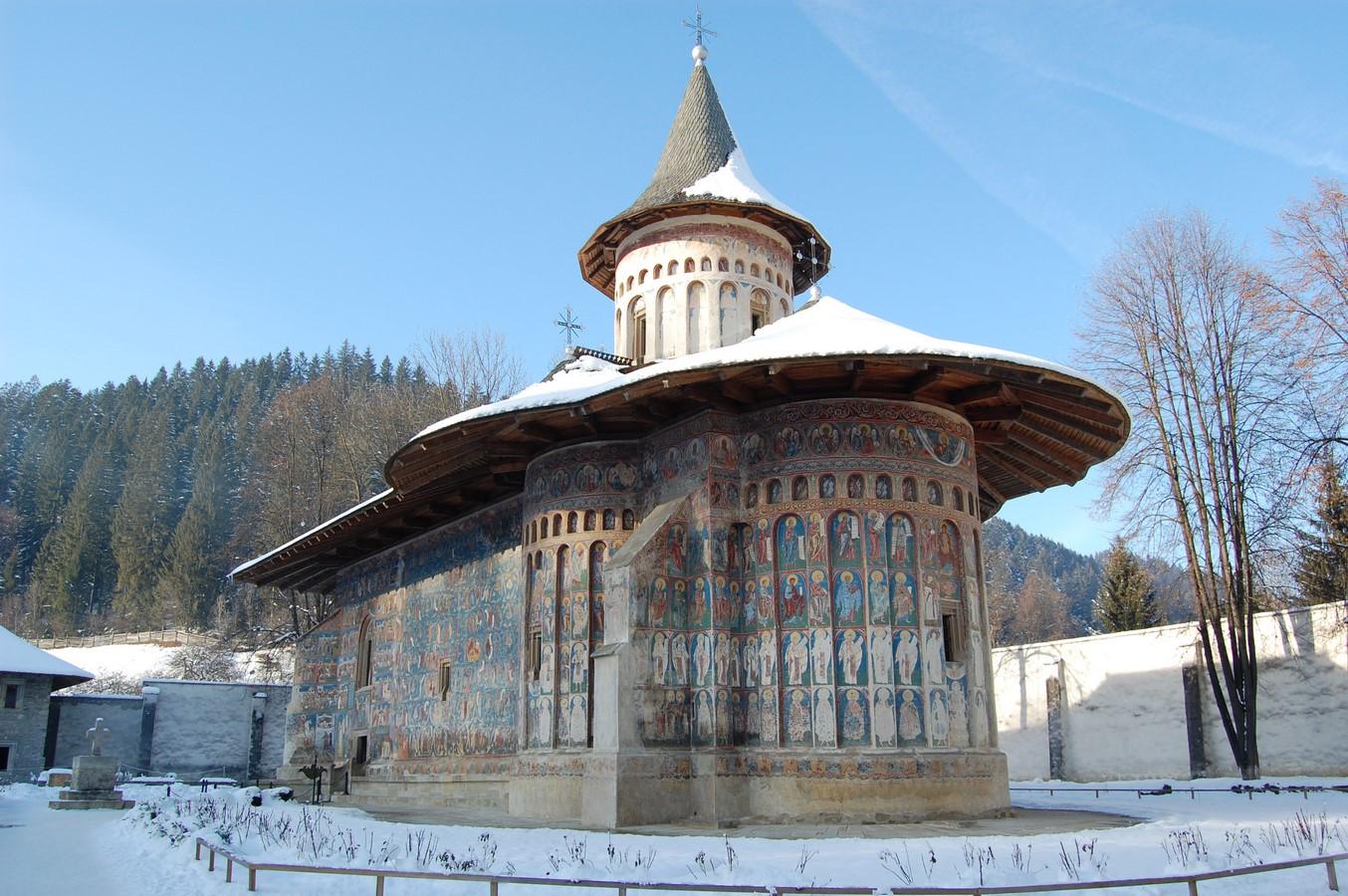 Voronet Monastery - Sheet1