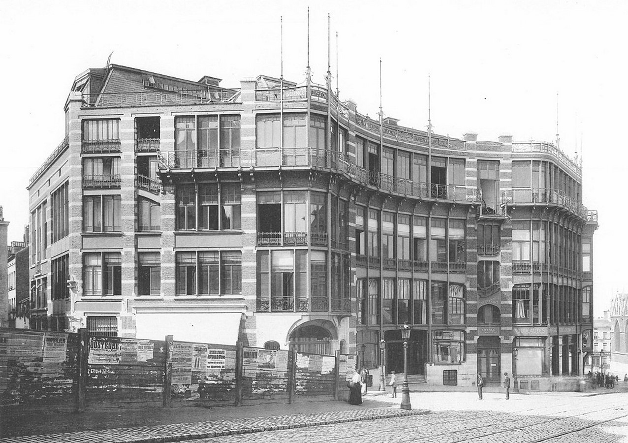 """Case Study: Maison Du Peuple by Victor Horta: An example of """"Brusselization"""" - Sheet1"""