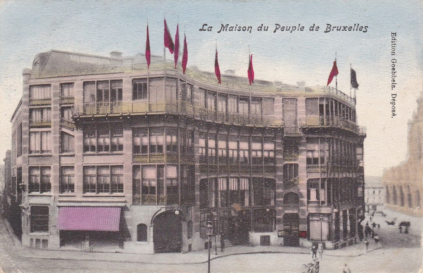 """Case Study: Maison Du Peuple by Victor Horta: An example of """"Brusselization"""" - Sheet5"""