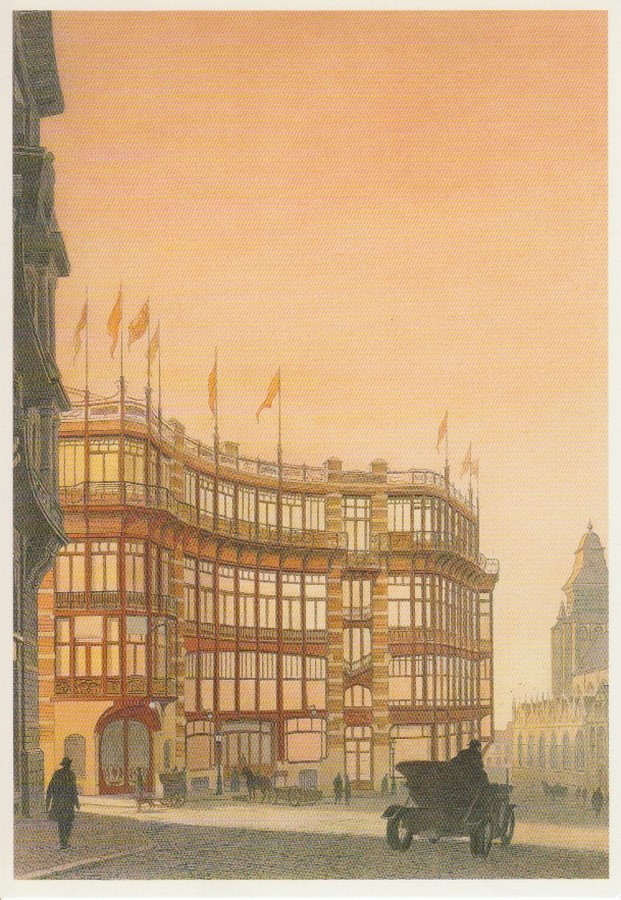 """Case Study: Maison Du Peuple by Victor Horta: An example of """"Brusselization"""" - Sheet9"""