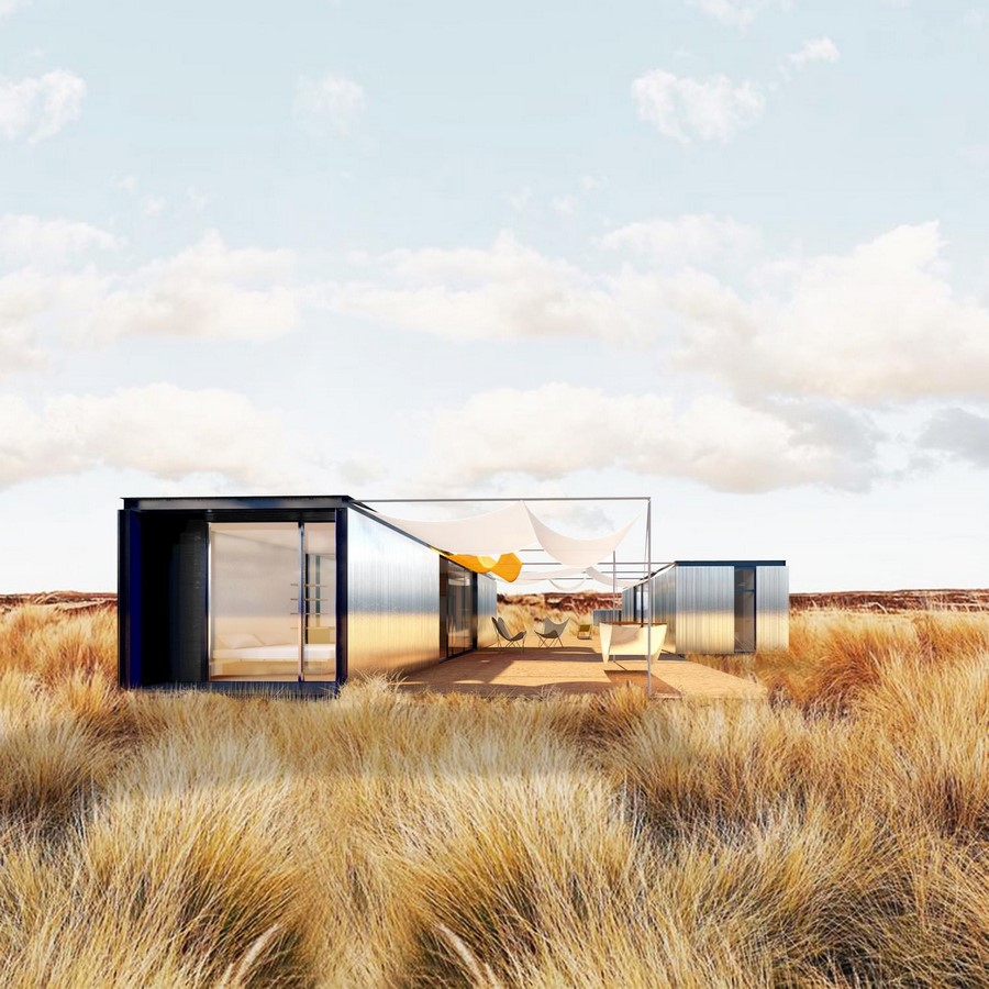 Two-Piece House With Corten Steel Addition In Toledo, Spain completed by DelaVegaCanolasso - Sheet2