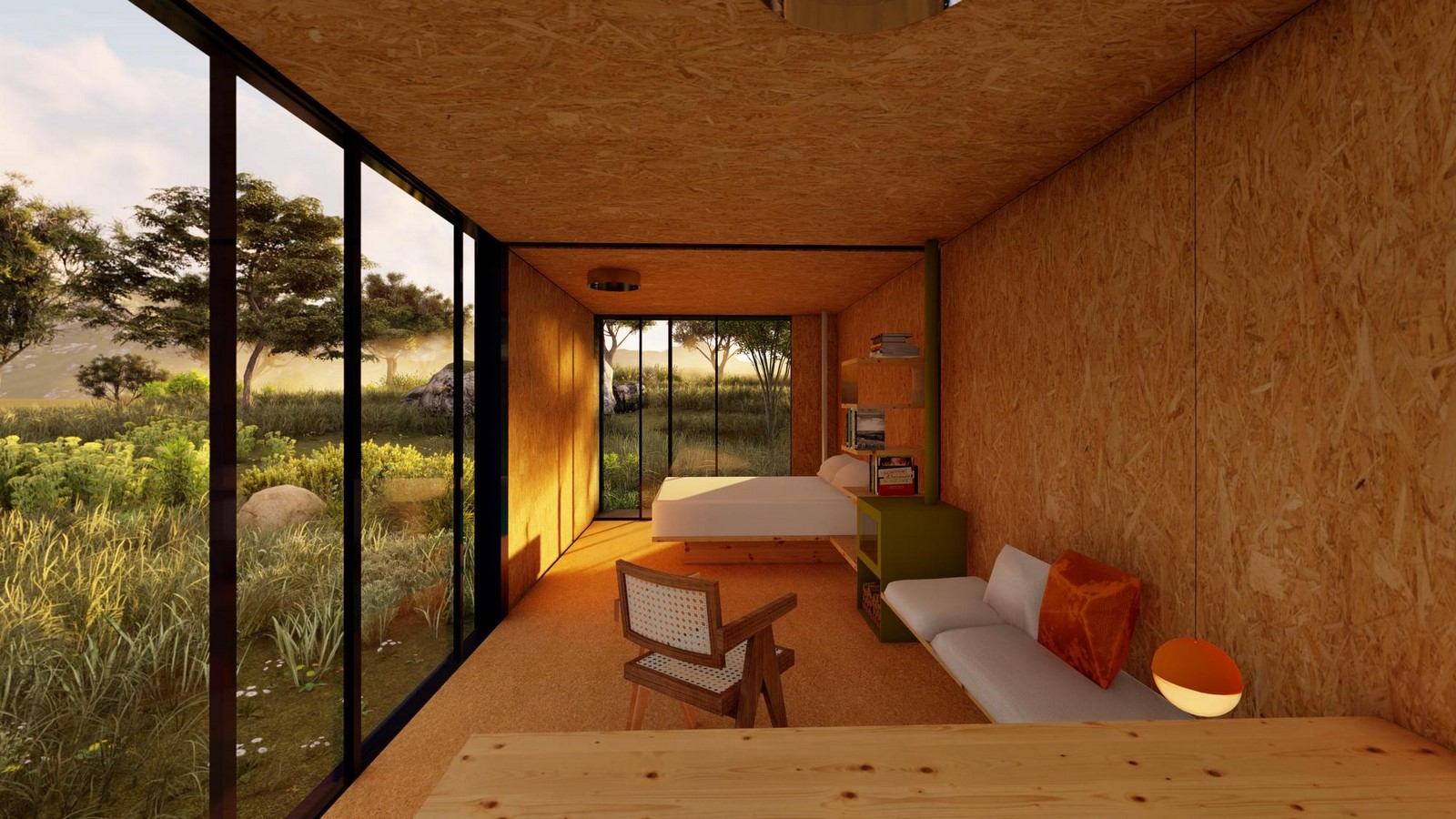 Two-Piece House With Corten Steel Addition In Toledo, Spain completed by DelaVegaCanolasso - Sheet3