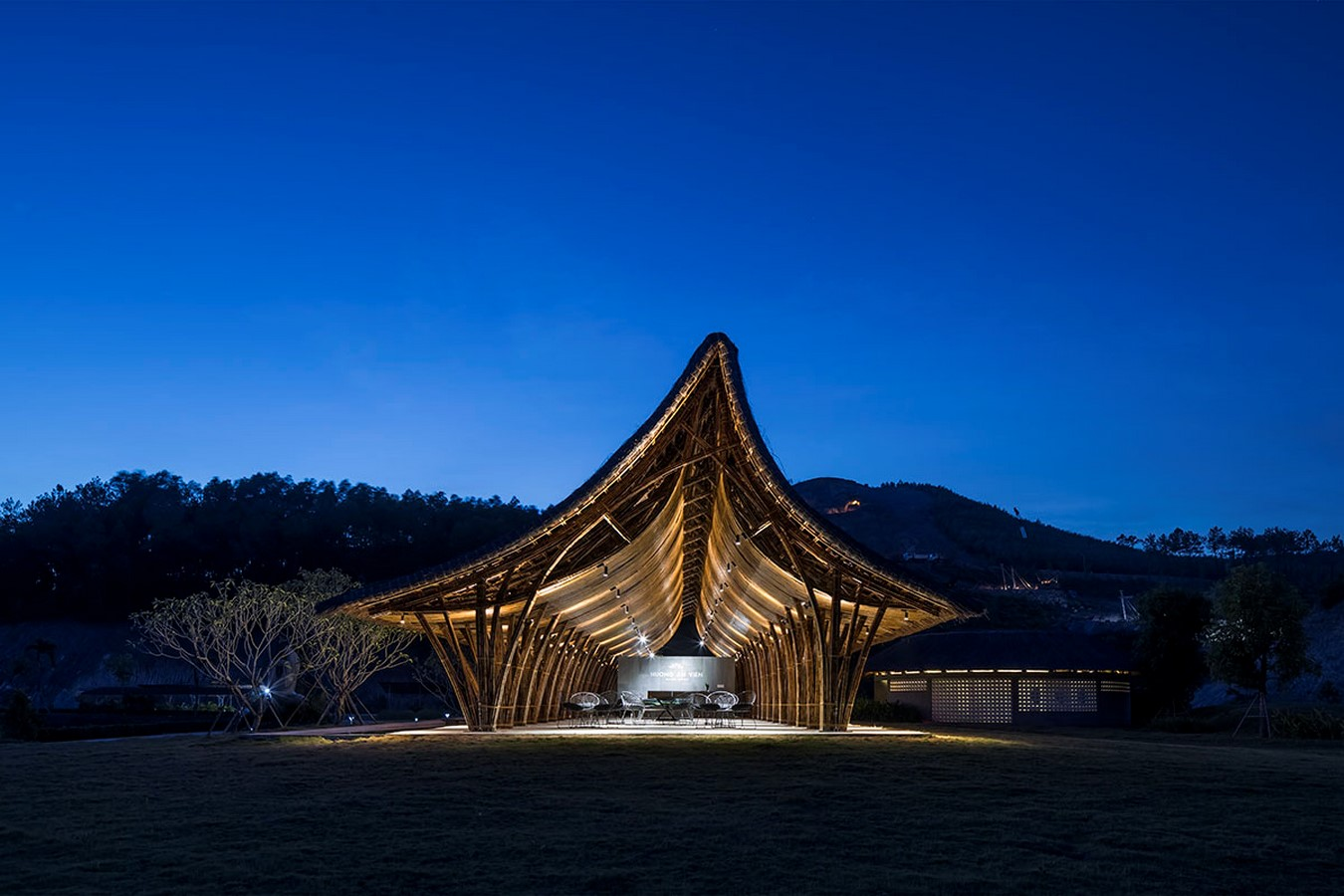 Visiting Center For Huong An Vien Cemetery created by VTN Architects - Sheet10