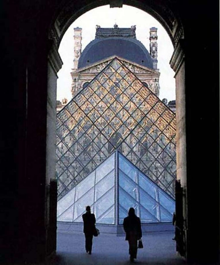 10 Things you did not know about Louvre Pyramid by I.M. Pei - sHEET7