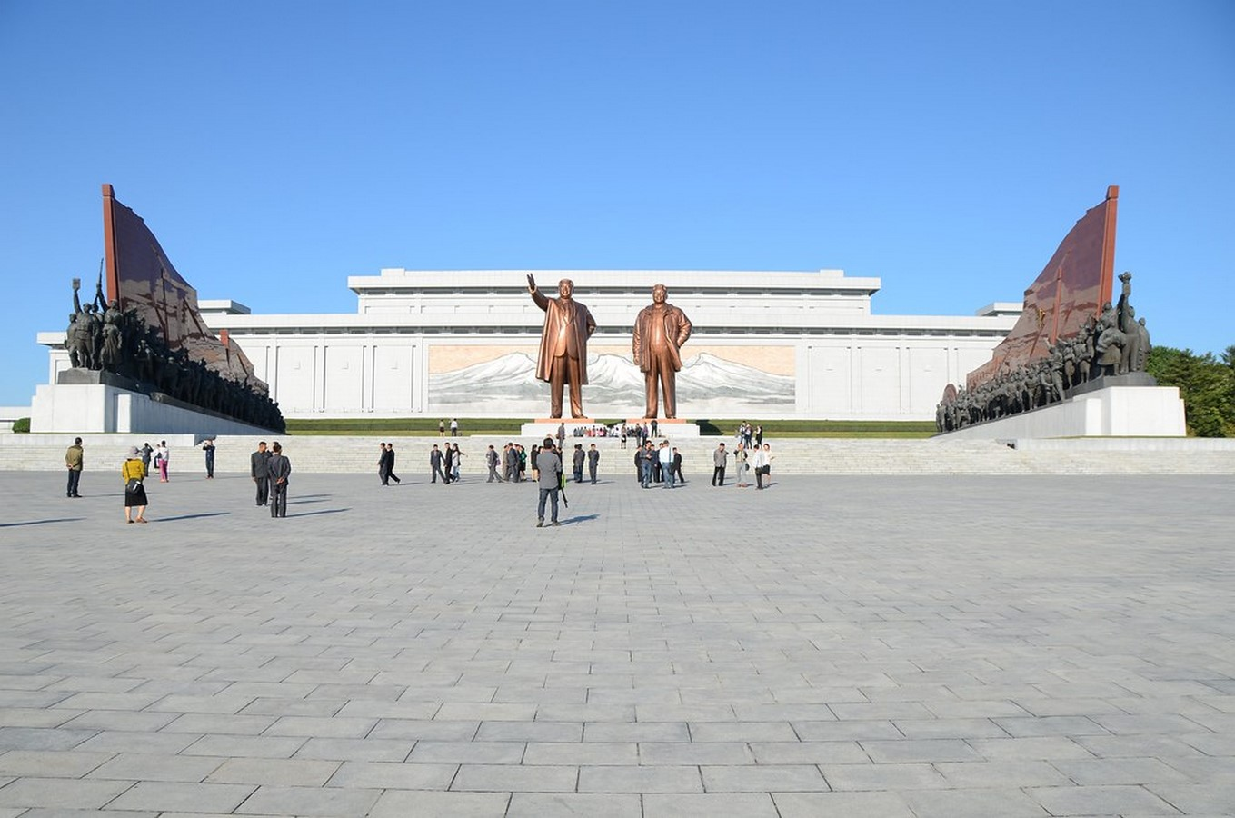 Mansu hill grand monument - Sheet1