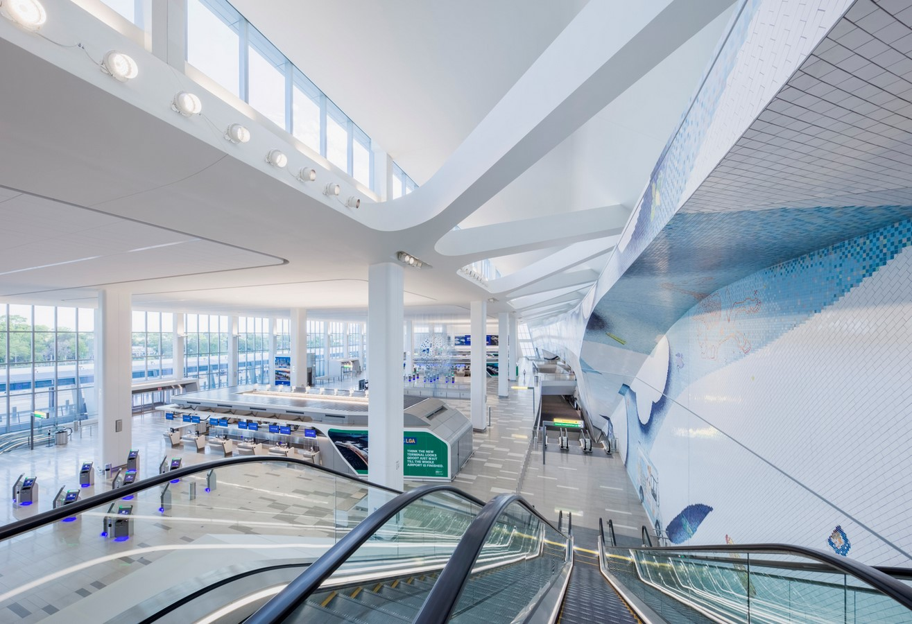 LaGuardia Airport by HOK: Advanced for it's time yet criticized - Sheet12