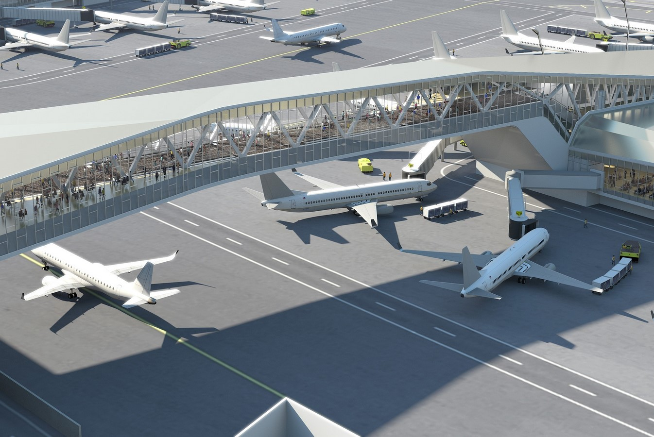 LaGuardia Airport by HOK: Advanced for it's time yet criticized - Sheet13