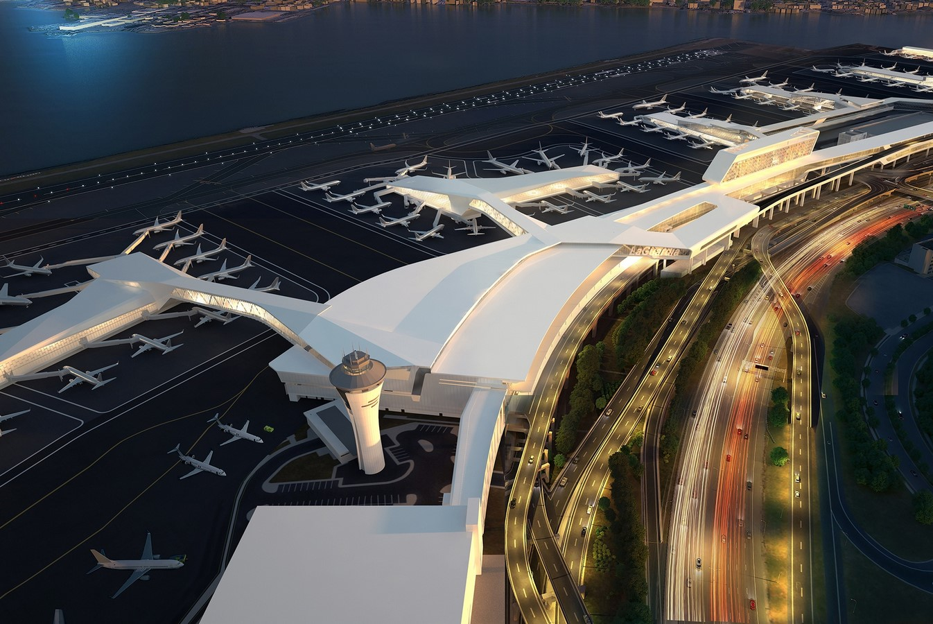 LaGuardia Airport by HOK: Advanced for it's time yet criticized - Sheet4